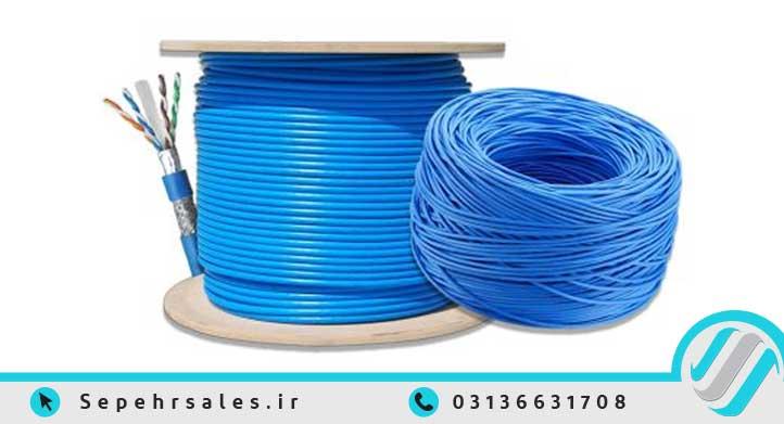 خرید آنلاین انواع کابل شبکه